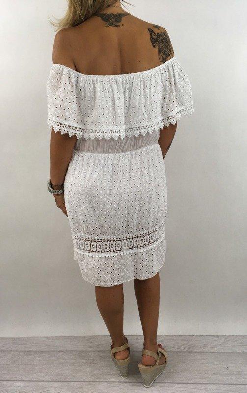cf78dc7dffd Sukienka biała Boho   Kategorie \ Sukienki Nowości   Piu Piu - Moda ...