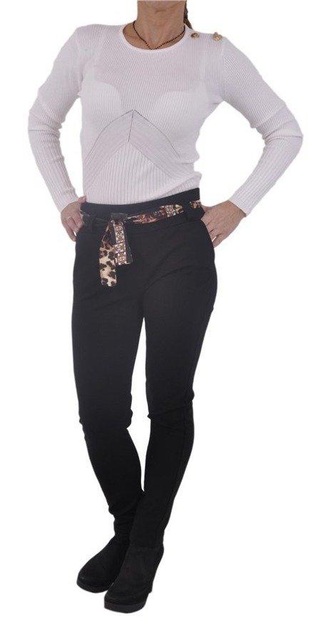 Bluzka biała prążek M/L