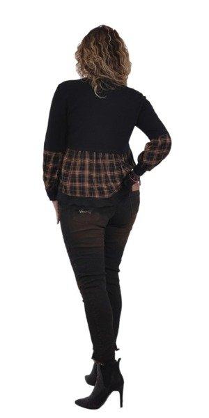 Bluzka czarna minimal