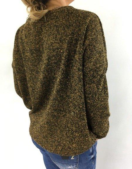 Bluzka melanż czarnomiodowa