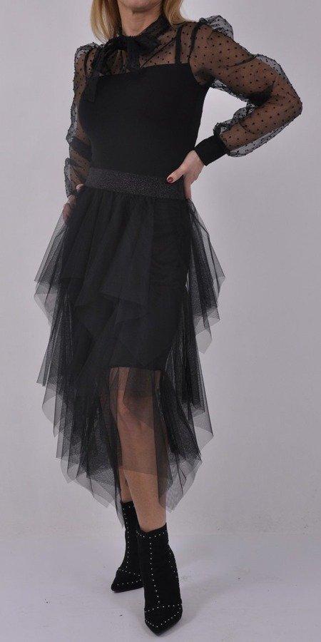 Spódnica czarna tiulowa