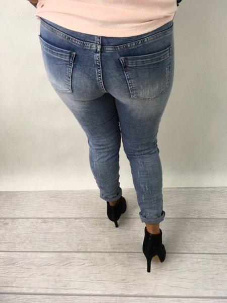 Spodnie jeansy S