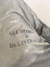 Bluzka szara napis
