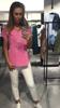 Cudownie lekka różowa bawełniana bluzka z napisem