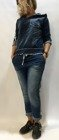 Spodnie dresowe w kolorze jeansowym