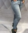 Spodne jeans szelki