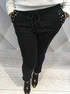 Spodnie dresowe czarne z perłami