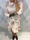 Sukienka kwiaty róż