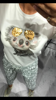 Urocza bluzka z misiem koala w okularach S/M